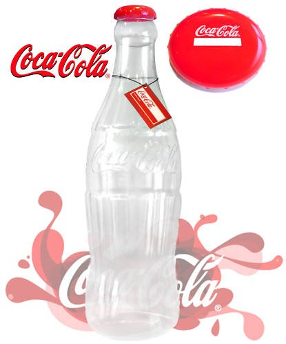 Große Cola Flasche (Plastic Coca Cola (Coke) Savings - Money Box / Bottle 60cm (COK001) [ Coke Bottle Money Box]{Fancy Money Box / Novelty Money Box})