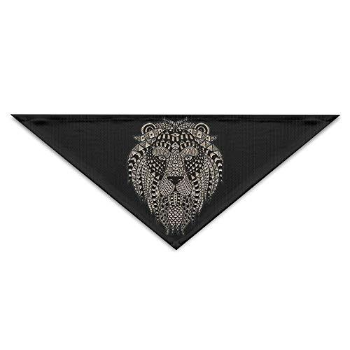 Head Kostüm Lion Dog - dfegyfr Cool Lion Head Triangle Pet Scarf Dog Bandana Pet Collars for Dog Cat - Birthday