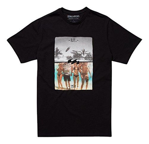 billabong-chill-t-shirt-manches-courtes-homme-noir-s