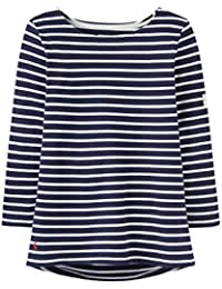 bdcfca67ae9a Joules Womens Harbour Striped Breton Relaxed Jersey Top