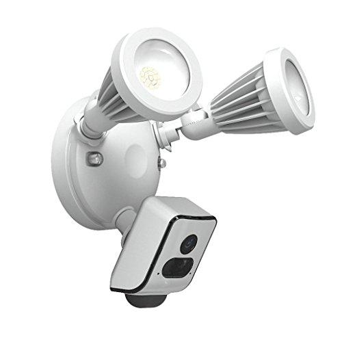 TAOtTAO FREECAM Floodlight Security Wifi Kamera Motion-mit Alarm Push-und Cloud-Service (Weiß)