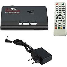 LUFA Ricevitore sintonizzatore DVB-T / T2 per TV digitale terrestre HD 1080P VGA AV Ricevitore sintonizzatore DVB-T multimediale