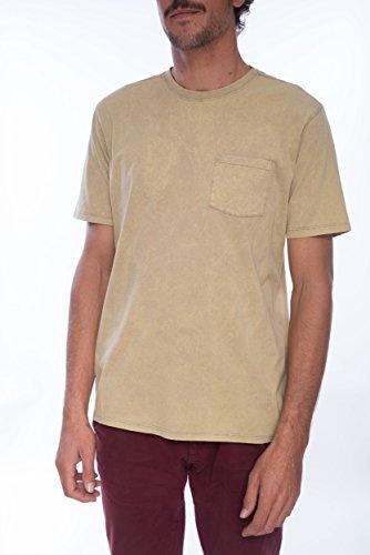Hurley Herren T-Shirt Staple Pocket Acid Wash T-Shirt - Pocket Hurley-t-shirt