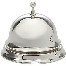 Campanello da Tavolo Reception campana H 7cm placcato argento placcato argento