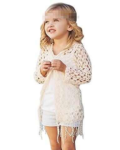 Yogogo Famille des Vêtements Bébé / Maman Été Sweat à Capuche en vrac Blouson et une Veste en Couverture (Taille: 7T,