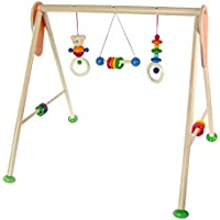 Hess Wooden Baby Activity Baby Gym Bear Henry Toy