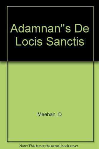 Adamnan''s De Locis Sanctis