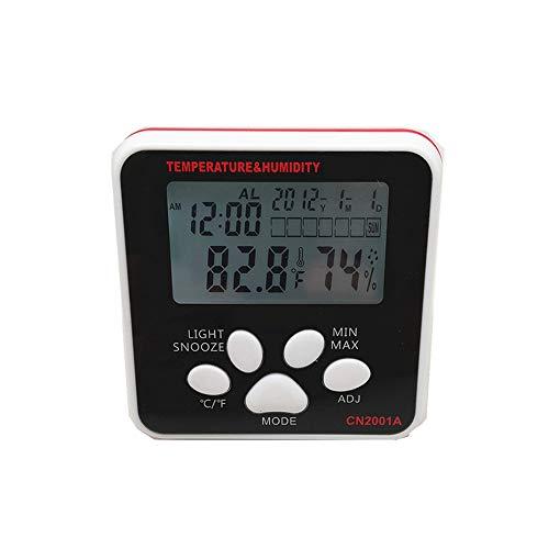 LJJY Los termómetros de Temperatura y Humedad Interior medidor Digital de Temperatura y la Humedad...
