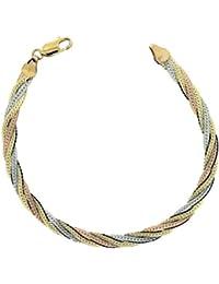 Damen-Armband 9 Karat (375) Gelbgold 185 mm BRG-K30389
