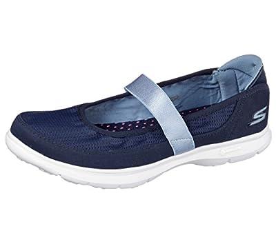 Size 4.5 Skechers Women's Go Step Original Textile Mary Janes