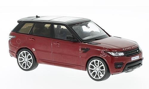 er Sport, metallic-rot/schwarz, 2014, Modellauto, Fertigmodell, WhiteBox, 1:43 (2014 Range Rover Auto)