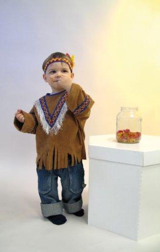 Festartikel-M�ller Indianerkost�m Kleine Feder Gr. 98-104 Kinderkost�m,