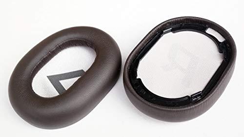 Coussinets Cuir Coussin réparation de pièces pour Plantronics Backbeat Pro 2sans Fil Casque Réducteur de Bruit 95x70mm Marron