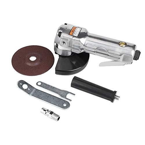 Akozon Amoladoras angulares neumático 4 pulgadas 11000 rpm Lijadora de lijado Amoladora en ángulo Pulidora Pulido