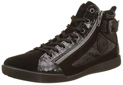 Pataugas Palme/C, Sneaker a Collo Alto Donna nero (noir)