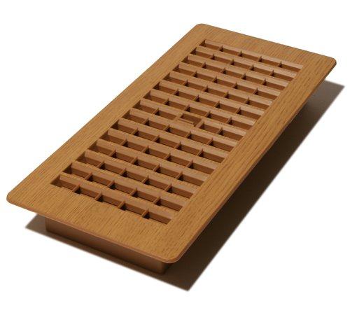 Decor Reiben 4-Zoll von 25,4cm Kunststoff Boden Register, PL410-OC