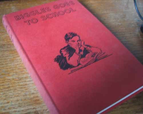 Biggles Goes To School; The Story Of Biggles' Early Life & School Days