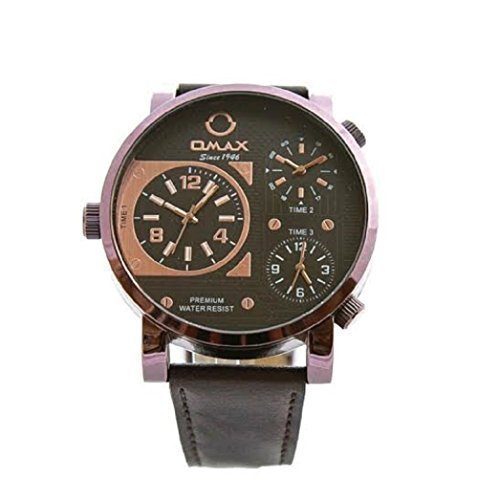 Omax omaxbrown1–Armbanduhr Herren