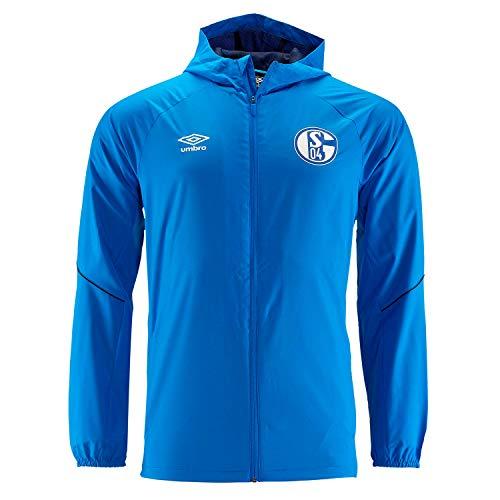 Umbro 2018-2019 Schalke Shower Jacket (Blue)