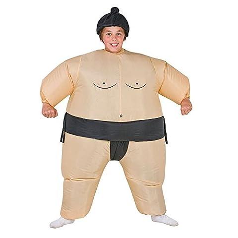 Costume de combat de Sumo gonflable pour les enfants Costumes de costume