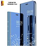 Best Blu Cell Phones - AE MOBILE ACCESSORIES Mirror Flip Cover Semi Clear Review