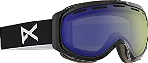 Anon Goggles 10765101004 Black Hawkeye Visor Goggles Lens Category 1 Lens Mirro