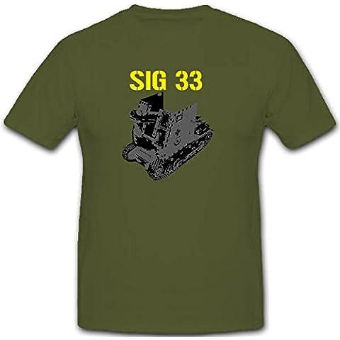 Sig de 33Infantería geschütz WK tanque WH fahrgestell Arma 1941–Camiseta # 2822