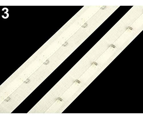 Baumwoll-haken (5m 3 Naturale Korsettband Baumwolle Breite 25mm, Haken Und Ösen Am, Bh-, Korsett- Bademode Rohlinge, Kurzwaren)