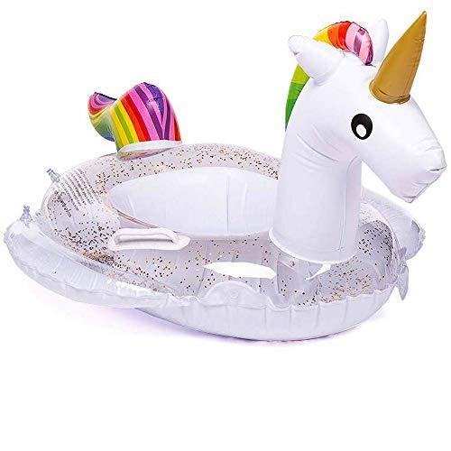 Kindersitz Boot schwimmt Schwimmen Kinder Einhorn aufblasbaren Pool Sonnenliegen Spaß Sommer Spielzeug für Kinder Freibad Float Raft