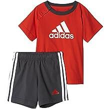 eb2319a8283 adidas I Sum Set Boys Conjunto de Camiseta con Pantalón Corto