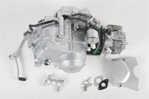 Motor 125 cc / cm³ 3-Gang Semi Automatik mit Rückwärtsgang für Quads