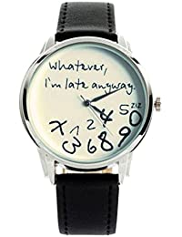 Relojes Mujer Baratos Sunday Reloje Muy Bonito Relojes Mujerde Reloj Relojes Originales Blanco Negro NiñA Reloj