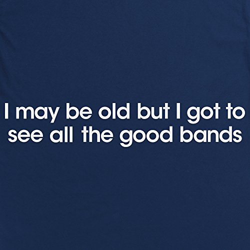 Good Bands T-Shirt, Herren Dunkelblau