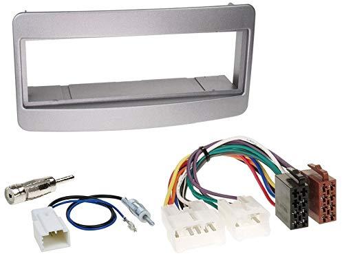 Alpine-UTE-202DAB-1-DIN-Autoradio-inkl-DAB-Antenne-USB-AUX-Spotify-fr-Toyota-Avensis-Verso-T22-2001-2005-Silber