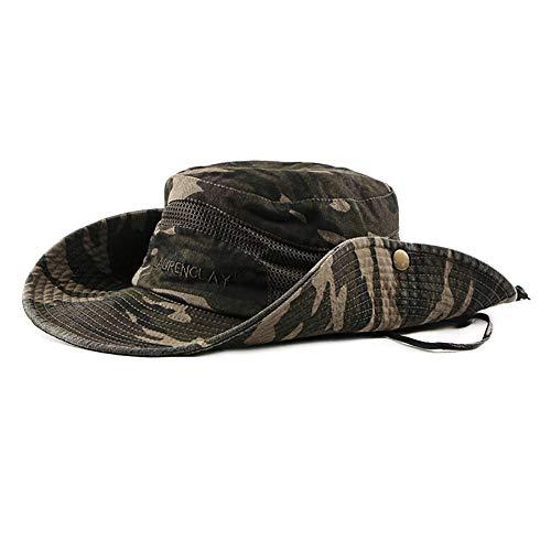 Leisial Sombrero Estampado De Camuflaje