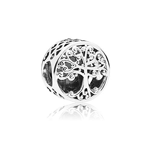 Pandora Damen Moments Family Roots Charm Sterling Silber 797590