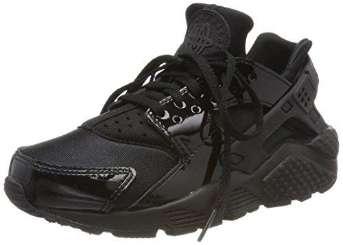 Nike Air Huarache Run, Sneakers Basses Femme Noir (Black/black-black)