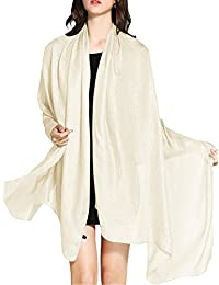 Wedtrend Soft Solid Wrap Shawl Stole Ladies Scarf All Seasons Different Colours