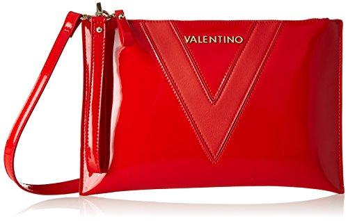 Valentino by Mario Valentino Damen Dahila Tornistertasche, Rot (Rosso), 2x20x31 cm