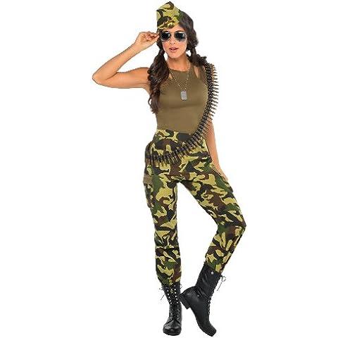 Christy`s - Disfraz de camuflaje para mujer, talla L (997114)