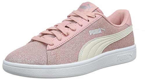 PUMA Girls Smash V2 Glitz Glam Jr Trainers