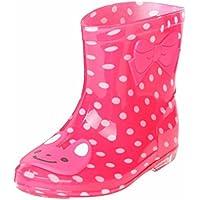 FeiliandaJJ Baby Regen Schuhe, Kind Infant Tier Gummi Rian Stiefel Wasserdicht Jungen Mädchen Regen Schuhe