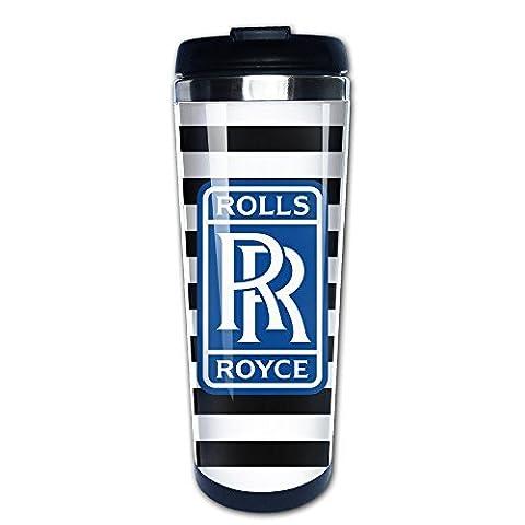 Nobee Rolls Royce Mug en acier inoxydable et bouteille isotherme et café thermos