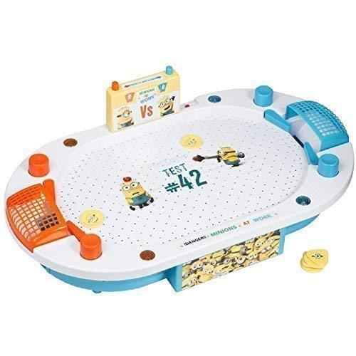 Ich -einfach Unverbesserlich Minions Elektronisch Luft Hockey Tisch Spielzeug Arena Kinder Weihnachtsgeschenk (Minion Hockey)