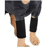 MLMCWCJ Ayuda de Las Polainas del Perro, Pierna Negra del Animal doméstico lesión de la articulación cirugía de la recuperación Correa de la Pierna del Perro Ayuda de la Debilidad (Tamaño : Metro)