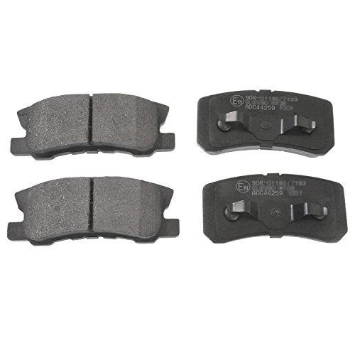 pack of four Blue Print ADJ134219 Brake Pad Set with screws