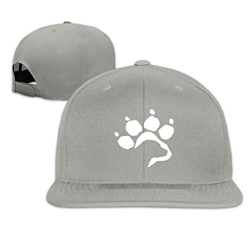 Osmykqe Labrador Retriever Hund Paw Men's Cap Summer Baseball Caps Snapback Hat Lightweight Soft Cotton Flat Cap -