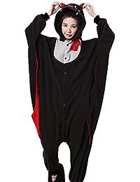 Samgu-chauve-souris animal Pyjama Cospaly Party Fleece Costume Deguisement Adulte Unisexe