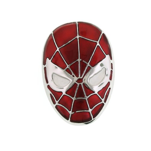 superhero-spider-man-red-head-enamel-round-belt-buckle-4002