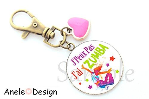 Porte clés zumba danse...